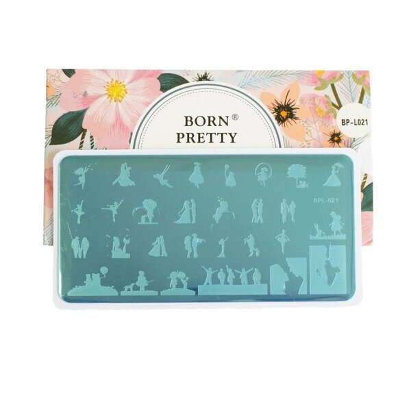 Пластина для стемпинга Born Pretty BP-L021